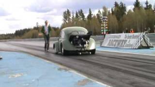 Drag racing turbo beetle 9.18 and 148mph