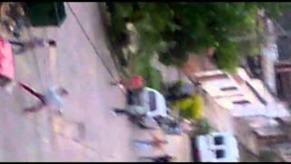 getlinkyoutube.com-Peleas a trompadas, cascotazos y  balazos a la salida de un boliche