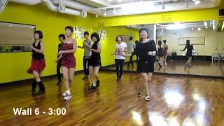 getlinkyoutube.com-Senorita Tu (by Ira Weisburd) - Line Dance (Demo & Walk Thru)