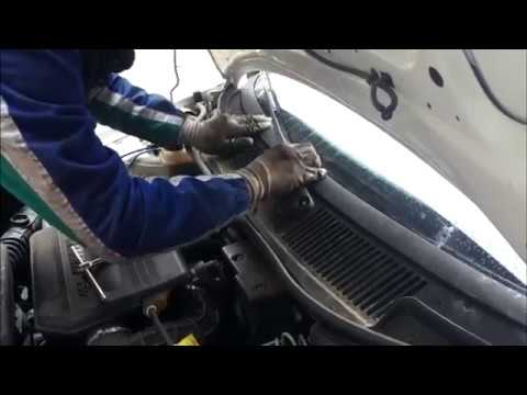FIAT Punto: ЗАМЕНА мотора ДВОРНИКОВ