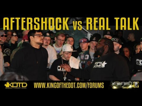 KOTD - Rap Battle - Aftershock vs Real Talk