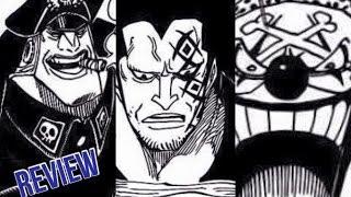 getlinkyoutube.com-One Piece ワンピース Manga Chapter 803 Review - Dragon VS. Blackbeard?! & Buggy VS. Luffy?!