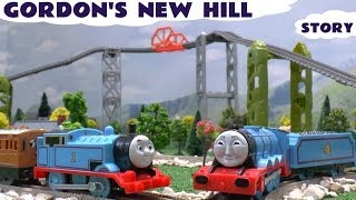 getlinkyoutube.com-Thomas & Friends Story New Trackmaster Track Gordon's Hill Thomas Accident Crash Toy Train