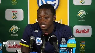 I can't keep doing this: Rabada width=