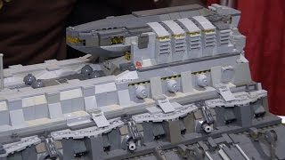 getlinkyoutube.com-Giant custom LEGO spaceships   BrickFair Alabama 2016