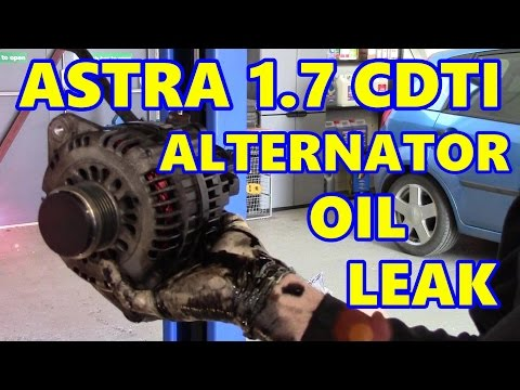 Vauxhall Astra Alternator Oil Leak! 1.7 CDTI (Opel)
