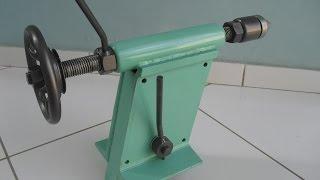 getlinkyoutube.com-Contraponto para Torno de Madeira (Tailstock Wood Lathe)