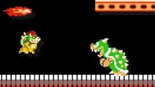 getlinkyoutube.com-Super Mario Maker - 10 Mario Challenge Walkthrough Part 1 - Bowser Vs. Bowser