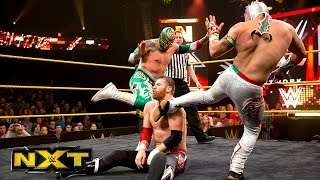 getlinkyoutube.com-Kalisto & Sin Cara vs. Adam Rose & Sami Zayn: WWE NXT, Aug. 21, 2014