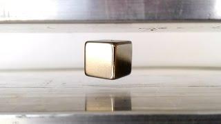 getlinkyoutube.com-Induction Levitation, Levitating Neodymium Magnets