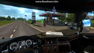 getlinkyoutube.com-ETS2 Göteborg London 2/5 VOLVO Trucks (Traffic+V8 Sound mod)