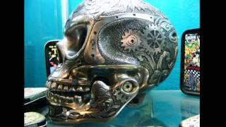 getlinkyoutube.com-Skull engraving by tony Reynolds