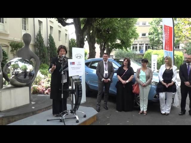 Cérémonie GARAC-Hyundai - Mme Caraffini EPA suite