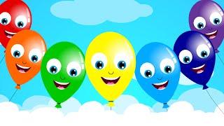 getlinkyoutube.com-The Balloon Song | Nursery Rhyme | Kids Song