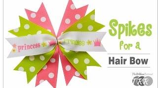 getlinkyoutube.com-How to Make Spikes for a Hair Bow - The RibbonRetreat.com