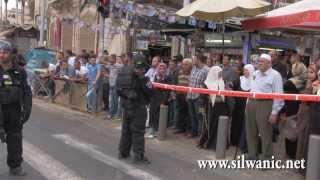 getlinkyoutube.com-بعد الإدعاء بقيامه بعملية طعن في القدس .. قوات الاحتلال تطلق الرصاص على ياسر طروة
