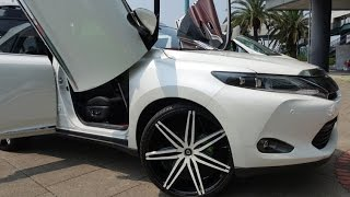getlinkyoutube.com-(4K)TOYOTA HARRIER Gull-wing Door custom トヨタ・ハリアー ガルウィングカスタム - SHOW UPドレスアップコンテスト2015