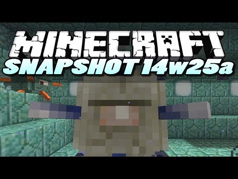 Minecraft Snapshot 14w25a  | Epic New Boss Mob! | Minecraft Snapshot Showcase