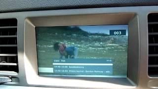 getlinkyoutube.com-Opel Vectra TV  (DVB-T) on CID