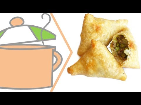 Nigerian Small Chops 4: Samosa (from India)