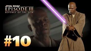 getlinkyoutube.com-Star Wars Episode 3: Revenge of the Sith (PS2) Walkthrough: Part 10 - Dark Side of the Force [Windu]