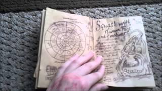 getlinkyoutube.com-Gravity Falls Book 3 Replica