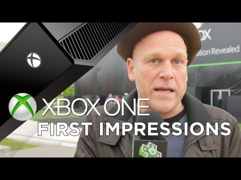 The XBOX ONE REVEALED - Adam Sessler's First Impressions!