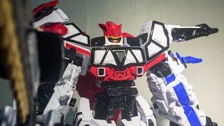 파워레인저 다이노포스 브레이브 티라노킹 장난감 반다이 리뷰 돌아온 다이노포스 Power Rangers Dino Super Charge Mega Zord