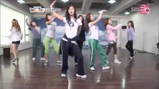 SNSD Into the New World Practice (eng sub)