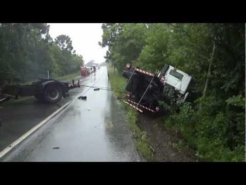 acidentes de caminhão, Remonta do gilson ABC cargas