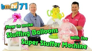 getlinkyoutube.com-Stuffing Balloons with the Super Stuffer Machine: With Mark Drury from Qualatex - BMTV 71