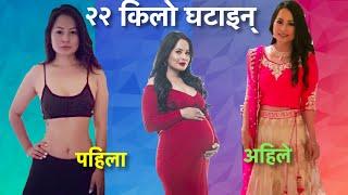 getlinkyoutube.com-Malvika Subba slim again, the Miss Nepal mom lost 22 kg in 6 months