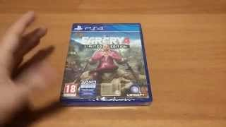 unboxing far cry 4 (limited edition) ps4 ita