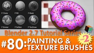 getlinkyoutube.com-Blender 2.7 Tutorial #80: Painting & Texture Brushes (Part 2) #b3d