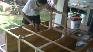 getlinkyoutube.com-Chacara Pe de Galinha ♣ Construção Pinteiro