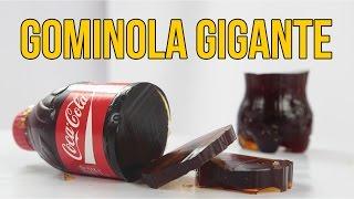 Cómo hacer una gominola de COCA COLA gigante (Experimentos Caseros)