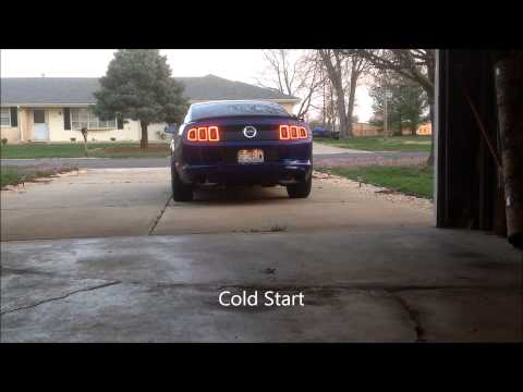 2014 Mustang GT Kooks Long Tube Headers & catted H-pipe