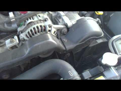 Subaru impreza гур воет на морозе