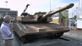 getlinkyoutube.com-Eurosatory 2014 Rheinmetall MBT Revolution - Christopher Foss