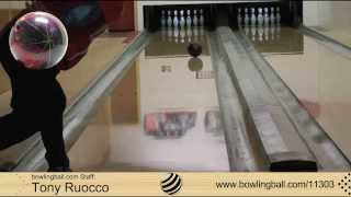 bowlingball.com Storm Zero Gravity Bowling Ball Reaction Video Review