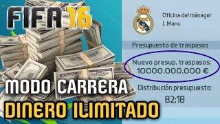 getlinkyoutube.com-COMO TENER DINERO ILIMITADO en Modo Carrera FIFA 16