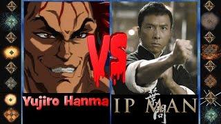 Yujiro Hanma (Baki the Grappler) vs Ip Man (Original) - Ultimate Mugen Fight 2015