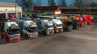 getlinkyoutube.com-Viernesuki de convoy | Euro truck simulator 2 | multiplayer con la banda PRO