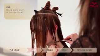 getlinkyoutube.com-Create the look: Powdered Red using Wella Blondor FREELIGHTS & Color Touch