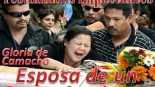 getlinkyoutube.com-Esposa de un Pastor Asesinado, Gloria de Camacho, Spanish -1/1