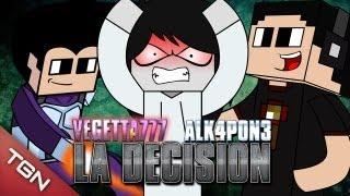 """getlinkyoutube.com-MINECRAFT: VEGETTA777 o ALK4PON3 - """"LA DECISIÓN"""""""