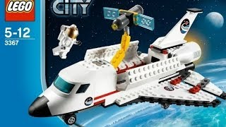 getlinkyoutube.com-Space Shuttle / Prom Kosmiczny - Lego City - 3367 - Recenzja