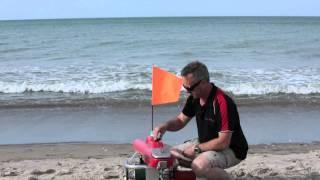 getlinkyoutube.com-Seahorse Kontiki - Launching your Kontiki from the Beach