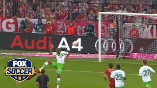 Robert Lewandowski scores five goals in 9 minutes | Bayern Munich vs. Wolfsburg width=