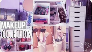 getlinkyoutube.com-♡  Makeup Collection of a 15 year old ♡